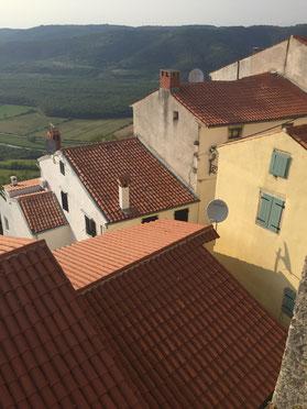 Motovun, Istrien, Kroatien