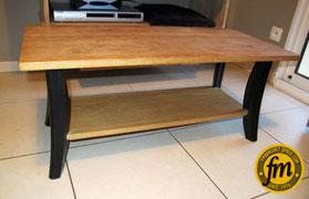 Fabrication table basse sur mesure