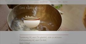 Beispiel einer Webseitengestaltung von SoundWorld Klangmarketing