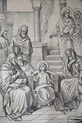 Den du, o Jungfrau, im Tempel wiedergefunden hast.