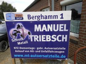 Manuel Triebsch, Schrott, Metall, Berghamm1, Hooksiel