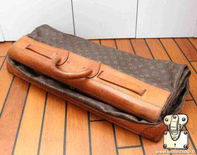 Steamer bag expertise Louis Vuitton plié
