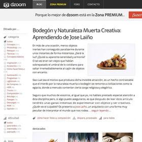 DZOOM WEB ARTICULO / ENTREVISTA