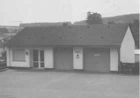Gerätehaus 1978