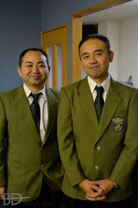 全日本アマ3Cでレフェリーを務めた北谷Bros. at 淡路