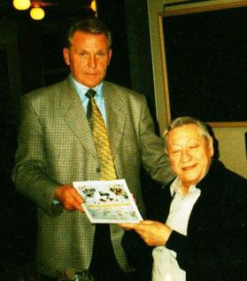 Hans-Ulrich Halwe und Scotty Moore, 2000