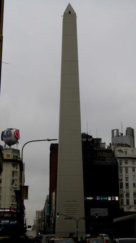 L'obélisque, emblême de la ville
