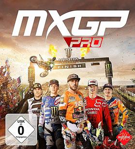 Das Cover von MXGP Pro