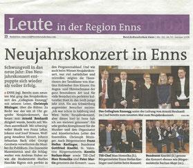 "Neujahrskonzert 2016, ""Bezirksrundschau"""