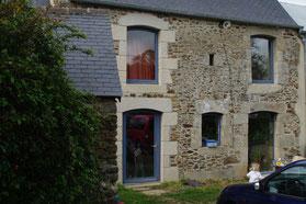 Deux façades