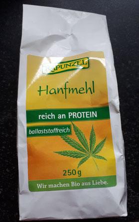 Hanfmehl von Rapunzel - reich an Protein