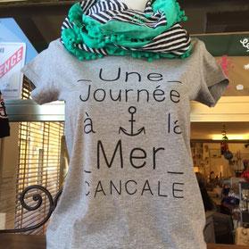 T. Shirt personnalisé Une Journée à la Mer Cancale