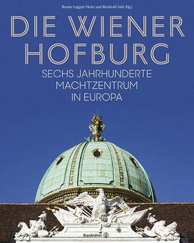 Cover des Hofburg-Buches mit der Michaelerkuppel