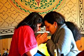 Tamara & Shanti Zeremonie Morbach