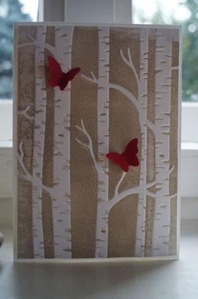 Herbstliche Birken - Patricia Stich 2015