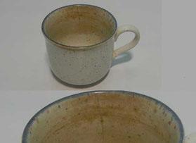 捨てる前のコーヒーカップ