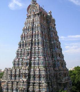 Madurai Meenakshi Tempel