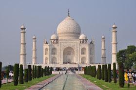 Taj Mahal Agra Goldenes Dreieck