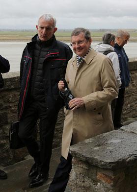 aux côtés de Guillaume Pépy, président de la SNCF