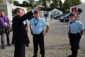 Rencontre avec les gendarmes qui assurent la sécurité des festivaliers