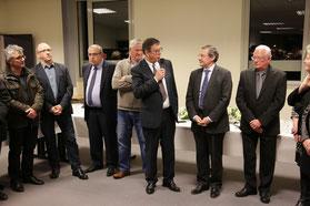 Discours de Jean Morin, président de la Communauté de communes La Haye-du-Puits