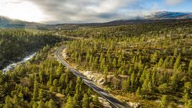 Norwegen Norway Flightseeing Drohne Luftaufnahme