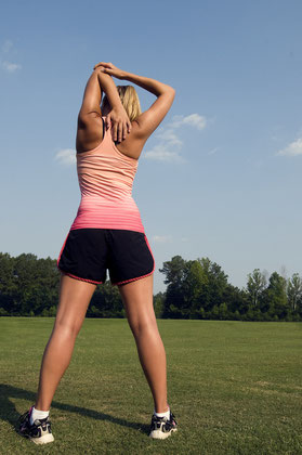 Sonne tanken beim Sport im Park + Vitamin D Produktion ankurbeln