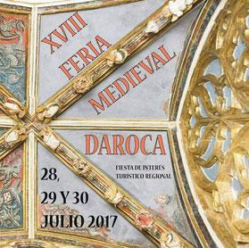 Programa de la Feria Medieval de Daroca