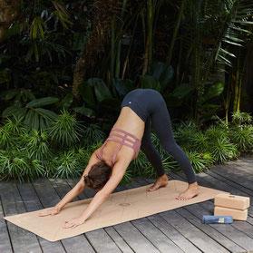 Lotuscrafts Yogamatte aus Kork - Verpackung zu 100% plastikfrei!