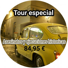 TOUR ASESINATOS Y CRIMENES EN MADRID