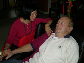 Dr. Kweethai with hypnotherapy client