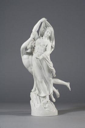 Aeneas und Anchises, Wilhelm Christian Meyer, 1766, KPM um 1766, Porzellan, weiß, glasiert © Staatliche Museen zu Berlin, Kunstgewerbemuseum; Foto: Fotostudio Bartsch, Berlin