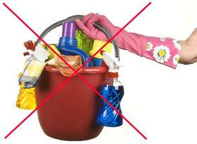 Mit dem DO EASY Tuch braucht man nie wieder andere Reinigungsmittel oder Putzmittel als Wasser