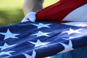 US FLAGGE MIT NATIONALADLER