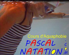 Séance d'aquaphobie à La Ciotat avec Pascal Natation