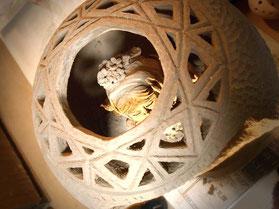 ブリリアンカット風に… 炎と楽園のアート 立花雪 YukiTachibana