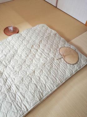 ほとんど麻のぜいたく寝具 夏専用快適睡眠 こどものゴロゴロ寝返り防止