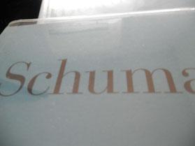 ちなみに。昨日こちらで(譜読み地獄)と言ったのはシューマンの作品を含めた諸々で、シューマンは、とても分かり難いのです私にとって。。譜読みしながらなかなか楽しくなれない私ですが、「クララも大変だなぁこんなわけのわからない人が旦那さんで・・」と思った途端、その曲が俄然面白く、活き活きと輝いてきました!「分かった!」というには程遠いのですが、そうだよね、シューマンだって一人の人間、簡単に他人に理解されてたまるか、というような苦悩や悩みが、誰にだってあるはず。彼はそれを作品に吐露しているのでしょう、きっと。
