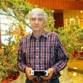 メリディアン・オーディオの共同創業者、ボブ・スチュアート氏