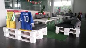 Fußball Kindergeburtstag feiern in Frankfurt Oberursel Friedrichsdorf Karben Bad Vilbel Steinbach Trainingspaket Fussball Geburtstag Sandra Minnert