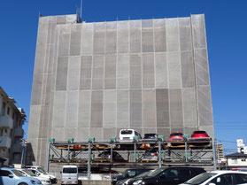 工事 代替駐車場 マンション