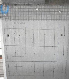 auscultation radar des piles de béton avec aquitaine radar