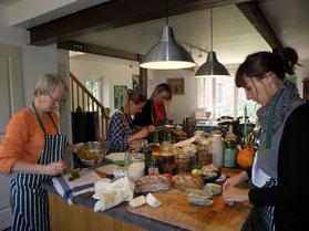 stage cuisine plantes sauvages, stage cuisine santé, stage pain