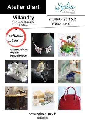 expo vente artisans createurs artistes villandry soline du puy