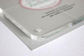 Acrylblock für Clear Stamps