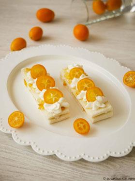 Tramezzini mit Quark und Kumquats