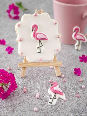 Flamingo Fondantkekse