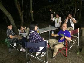 7月例会「日光YEG家族親睦例会」~自然のなかでのBBQ&ナイトウォーク~