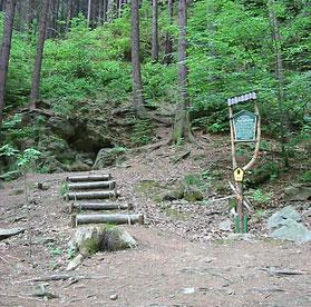 Bild: Fuchshöhle Wünschendorf