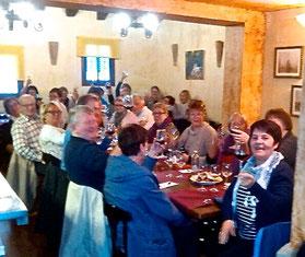 Los comensales noruegos en El Marino-Rotes